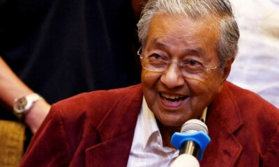 Tun M Says That He Is In A Hurry Because He Might Not Live Long - World Of Buzz