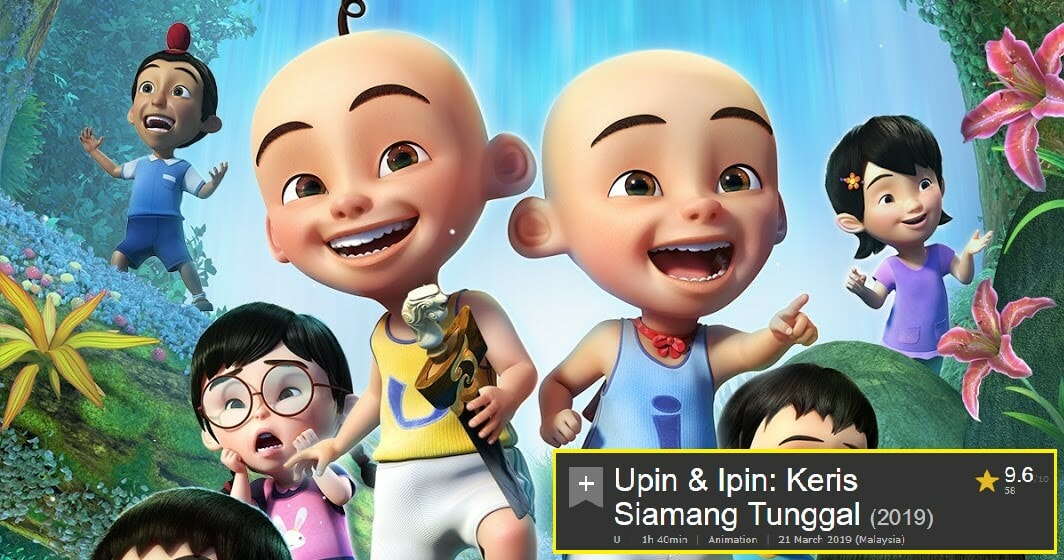 Upin & Ipin's New Movie Scores 9.6/10 on IMDb, Dethrones Paskal As Highest Rated M'sian Film - WORLD OF BUZZ