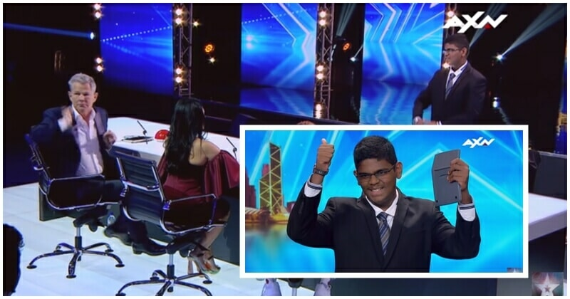 Video: Malaysian Human Calculator Wows Judges At Asia'S Got Talent - World Of Buzz 1