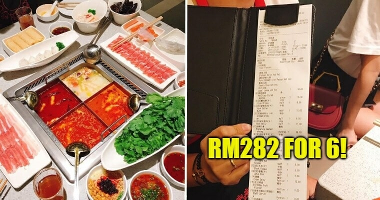 Viral Post Showing Hai Di Lao Lunch Costing Nearly RM300 Has Netizens Divided - WORLD OF BUZZ