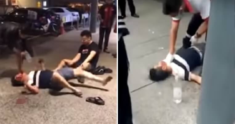Viral Video Shows Man Experiencing Seizure & Bleeding From Mouth After Exiting Popular KL Nightclub - WORLD OF BUZZ 1