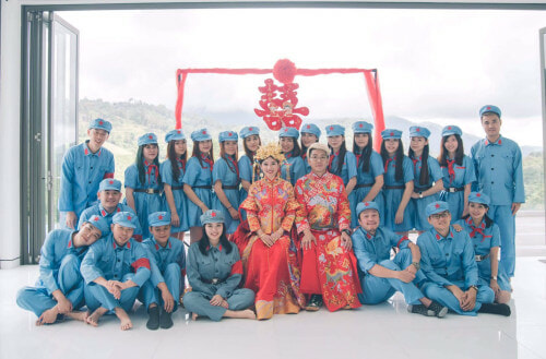 "Woman Goes Viral For Her Insta-Perfect, Super-Budget ""DIY-TaoBao"" Wedding - WORLD OF BUZZ 3"