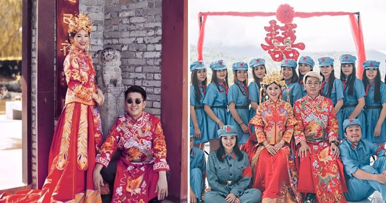 "Woman Goes Viral For Her Insta-Perfect, Super-Budget ""DIY-TaoBao"" Wedding - WORLD OF BUZZ 5"