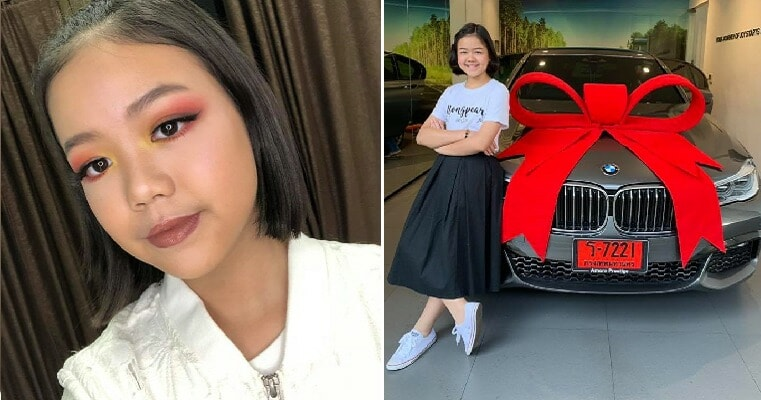 12yo Girl Buys Herself a BMW As Birthday Present After Becoming Successful Makeup Artist - WORLD OF BUZZ 5