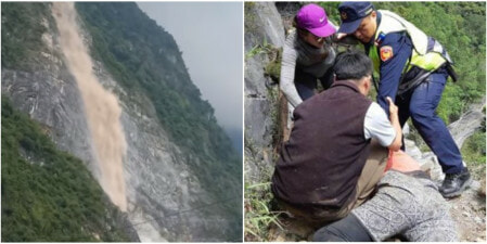 2 Malaysians Severely Injured by Falling Rocks in Taiwan Magnitude 6.1 Earthquake - WORLD OF BUZZ 1