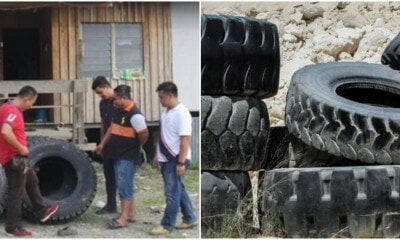 2 M'sian Men Steal Tyres from Company Get Caught After They Resold Tyres to Boss's Friend - WORLD OF BUZZ 1