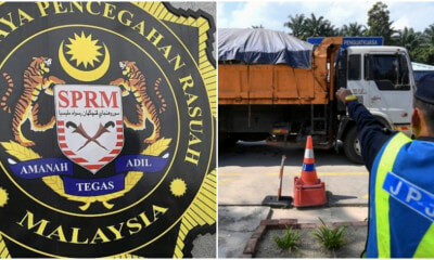 23 JPJ Officers Arrested by MACC for Receiving Bribes Up to RM32k for Protection of Lorry Drivers - WORLD OF BUZZ