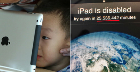 3YO Child Locks Father's iPad For 48 Years, Here's How To Unlock It If This Happens To You - WORLD OF BUZZ