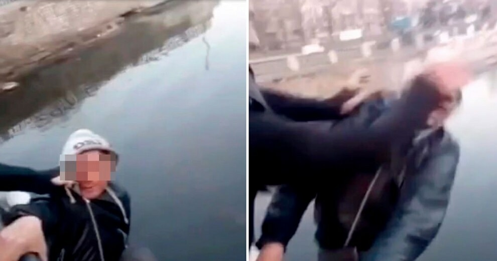 """48yo Man Dies After He Was Pushed into A River by 2 Men Who Wanted to Make A """"Funny Video"""" - WORLD OF BUZZ 1"""