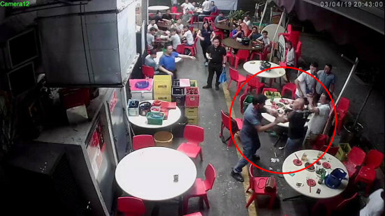51yo Man Attacks Smoker in Kopitiam with 30cm Saw After He Ignores Request to Stop Smoking - WORLD OF BUZZ 1