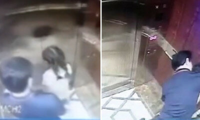 "61yo Man Forces Hugs & Kisses On Little Girl in Lift After Door Closes, Says He Was ""Talking"" to Her - WORLD OF BUZZ 4"