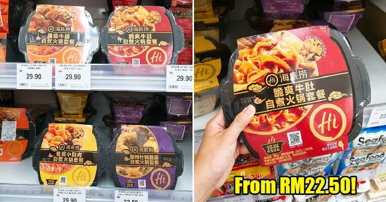 AEON M'sia & Jaya Grocer Are Selling Hai Di Lao Instant Hotpot So You Don't Need to Queue! - WORLD OF BUZZ 6