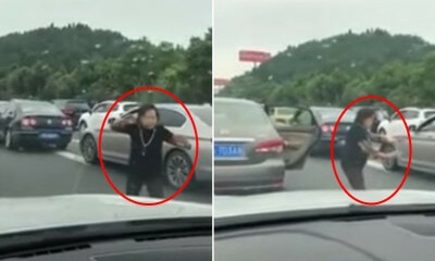 Aunty Makes Use of Time Stuck in Traffic By Practising Tai Chi for 2 Hours on Highway - WORLD OF BUZZ