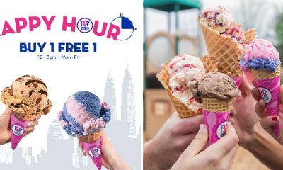 Baskin-Robbins is Having a Buy 1 Free 1 Promotion From Now Until End 2019 Every Mon to Fri! - WORLD OF BUZZ 1