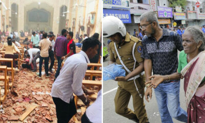 BREAKING: 156 Killed & More Than 400 Injured in Sri Lanka after a Series of Bombings Targeted Easter Services - WORLD OF BUZZ 1