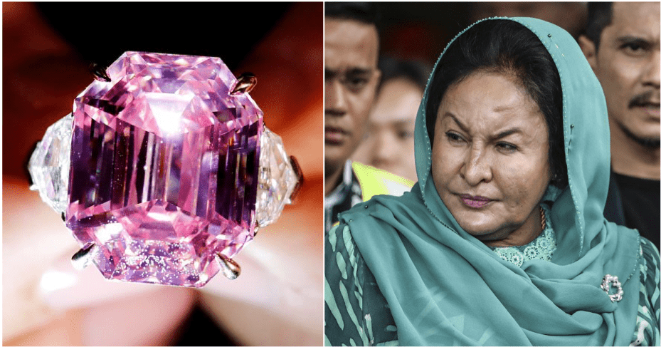 BREAKING: Rosmah's Pink Diamond Not Found But Police Has Proof That It Was Purchased With 1MDB Cash - WORLD OF BUZZ 2