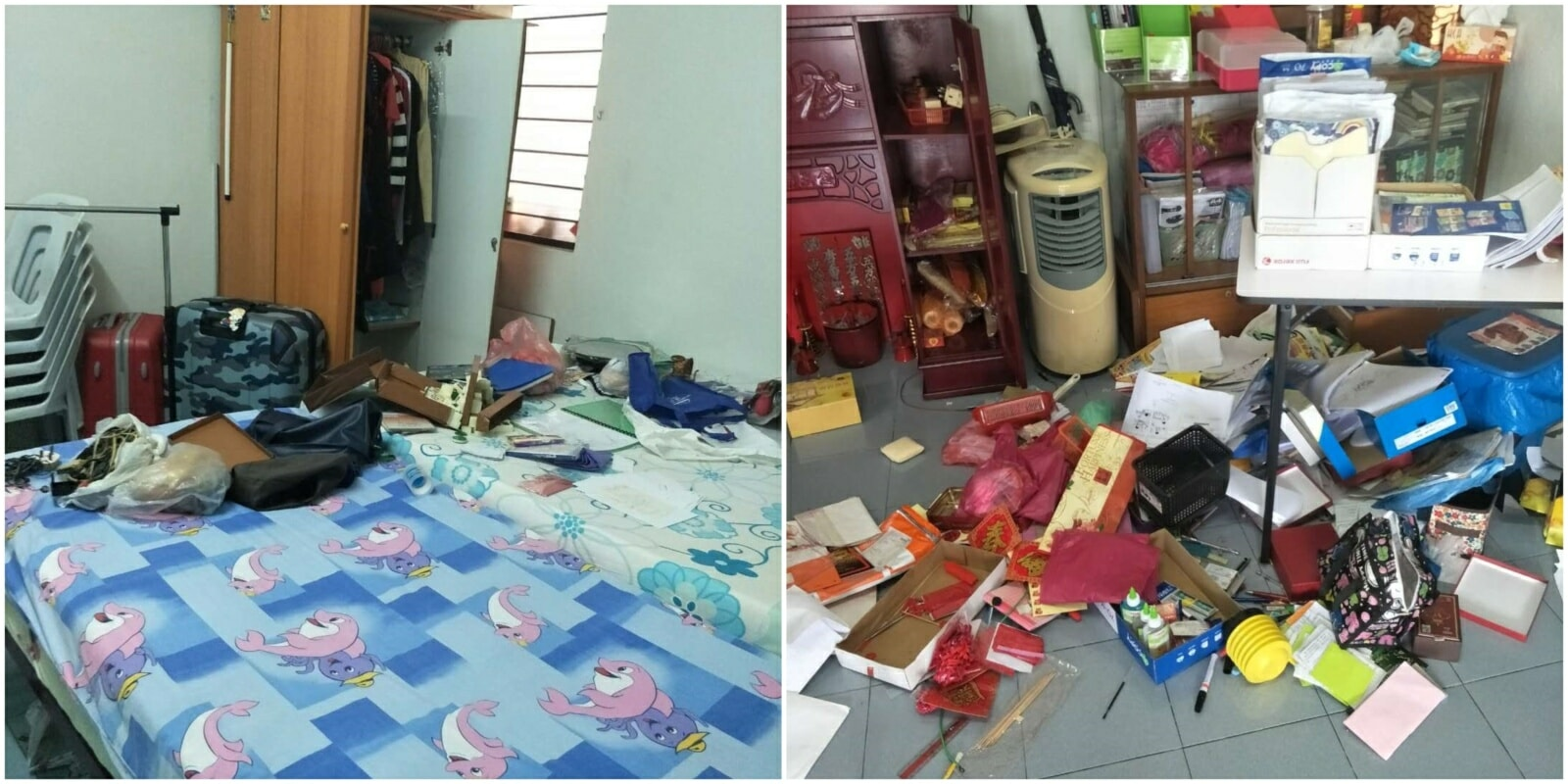 Burglars Break into Penang House, Leave With Nothing As They Can't Believe How Messy It Is - WORLD OF BUZZ 2