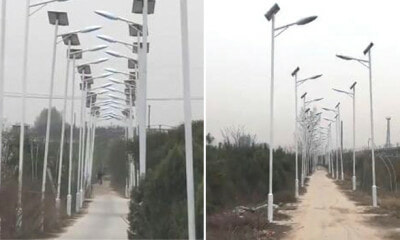 Chinese Villagers Put Up Over 1,000 Street Lights Before Being Relocated To Rip Off Government - WORLD OF BUZZ