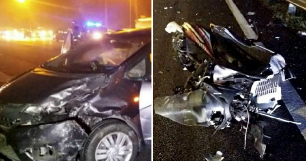 Fatal Accident on PLUS Causes Vehicles to Swerve on Wet, Slippery Road to Avoid Hitting Body Parts - WORLD OF BUZZ