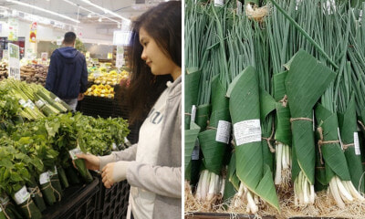 First Thailand, Now Vietnam's Biggest Supermarkets Are Using Environmentally-Friendly Banana Leaf Packaging - WORLD OF BUZZ 4