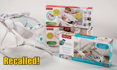 Fisher-Price Recalls Sleeper After Over 30 Infants Died, Parents Warned to Stop Using It - WORLD OF BUZZ