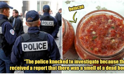 French Police Thought There was A Dead Body When Malaysian was Cooking Belacan in Paris - WORLD OF BUZZ