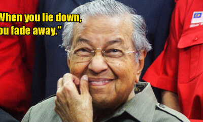 Dr Mahathir Says - WORLD OF BUZZ