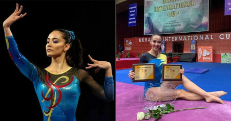 Gymnast Bags Malaysia's First-Ever Gold Medal In International - World Of Buzz