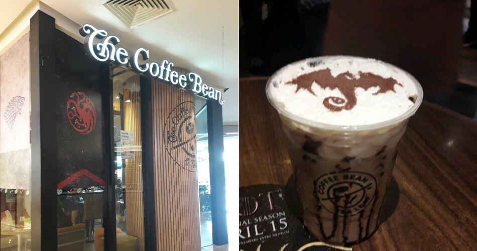 Here's How You Can Get Coffee Bean's Limited Edition Game Of Thrones-Inspired Latte For Free - World Of Buzz 4