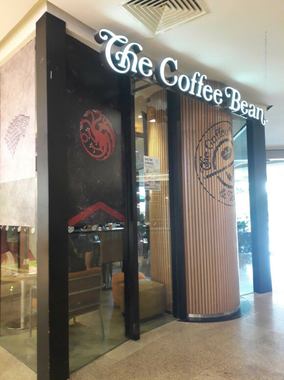 Here's How You Can Get Coffee Bean's Limited Edition Game Of Thrones-Inspired Latte For Free - World Of Buzz