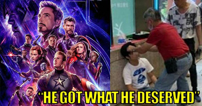 HK Man Revealed Avengers: Endgame Spoilers at Cinema Entrance, Got Beaten Up - WORLD OF BUZZ