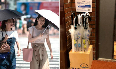Japan Launches Umbrella-Sharing Service, Every Single One Was Returned After Being Used - WORLD OF BUZZ