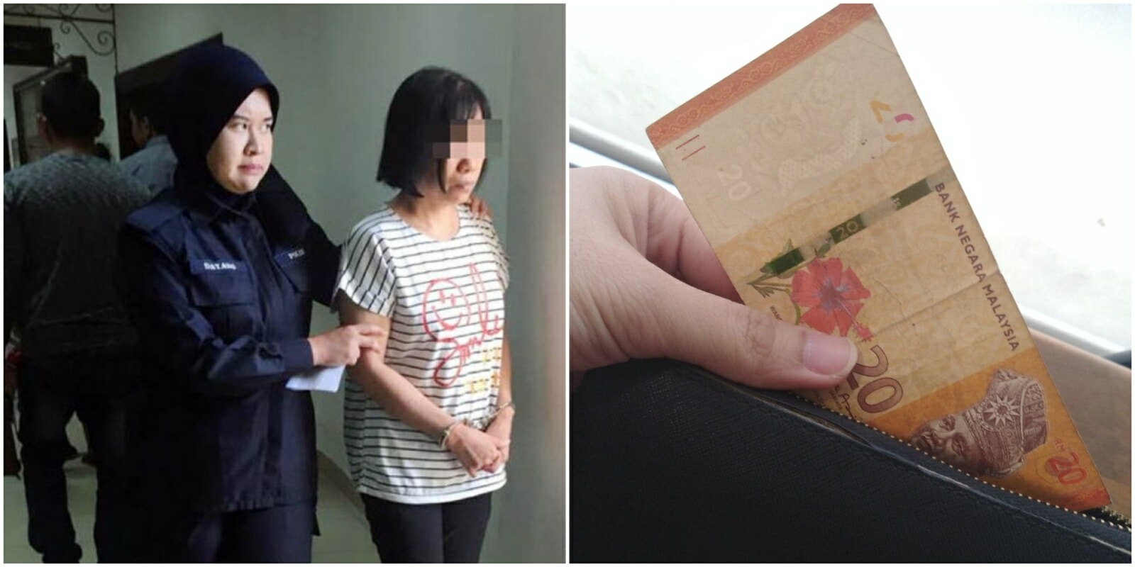 Kuching Woman May Be Jailed 20 Years for Using Fake RM20 Note, Netizens Say It's Unfair - WORLD OF BUZZ
