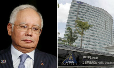 LHDN Issues Najib Extra Tax Bill Amounting to RM1.5Bil, Allegedly Didn't Declare RM4Bil Worth Of Income - WORLD OF BUZZ 2