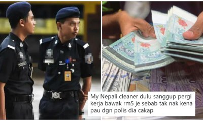 Malaysian Shares How Corrupt Policemen Are Often Extorting Money from Foreign Workers - WORLD OF BUZZ