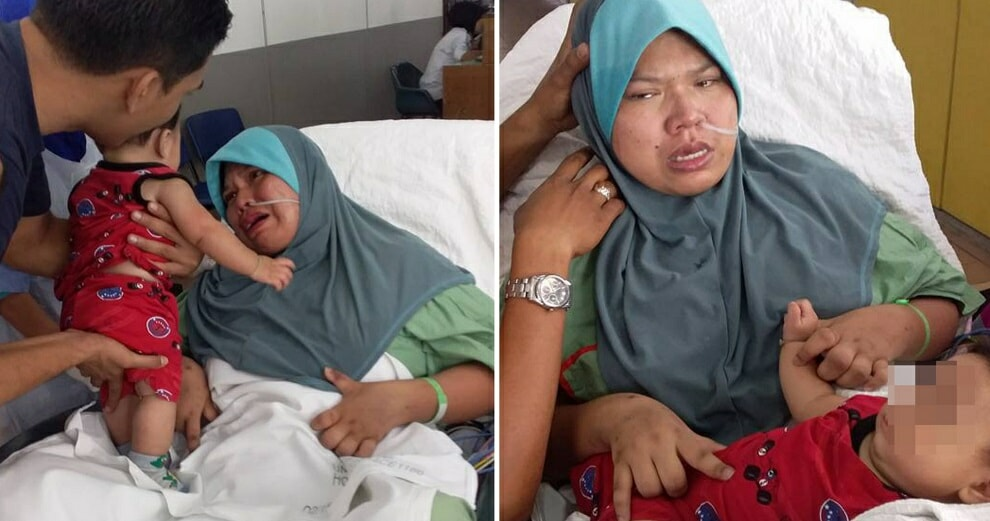 Malaysian Woman Falls into Coma During C-Section, Finally Meets Her Baby 5 Months Later - WORLD OF BUZZ