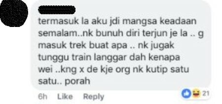 Malaysians Make Fun Of Individual 'Attempting' Suicide, Drew Flak From Netizens For Lack Of Compassion - WORLD OF BUZZ 3