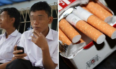 Man Pretends to Be Police Officer to Confiscate Secondary School Students' Cigarettes - WORLD OF BUZZ 3