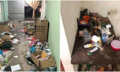 Miri School Teacher Leaves Behind Shocking Piles of Rubbish Everywhere in Rented Terrace House - WORLD OF BUZZ