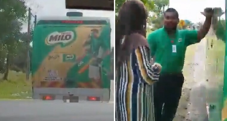 M'sian Couple Chase Milo Van on Highway to Satisfy Pregnant Daughter-in-Law's Cravings - WORLD OF BUZZ 3