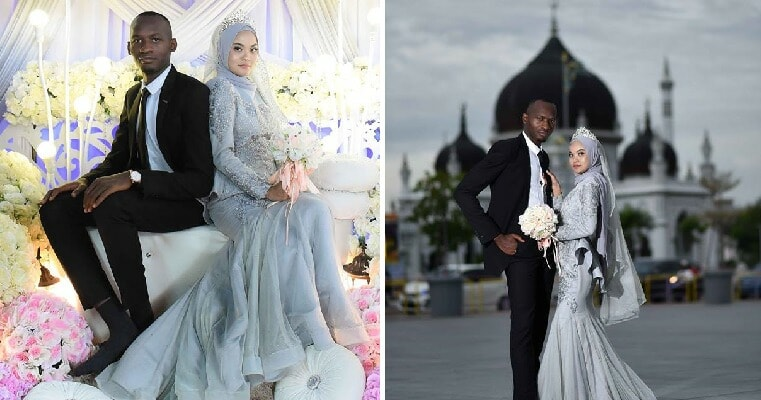 M'sian Falls in Love with African Man Who Consoled Her When She Was Crying, Marries Him 4 Months Later - WORLD OF BUZZ 2