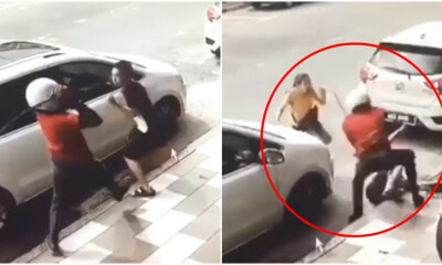 M'sian Man Attacked by Stranger Wielding Parang, Barely Escapes Thanks to Brave Wife Who Protected Him - WORLD OF BUZZ 3