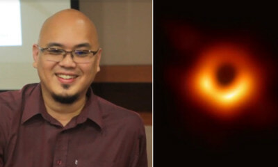 M'sian Scientist & UM Astronomers Part of Team that Captured World's First Blackhole - WORLD OF BUZZ 2
