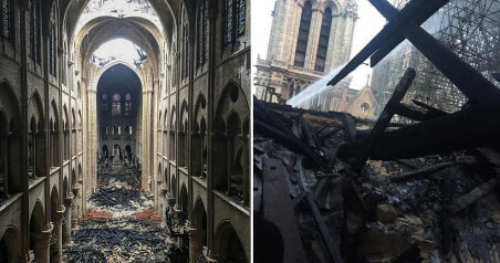 Newly Released Photos Show The Inside Of Notre Dame Cathedral After The Fire - WORLD OF BUZZ 5