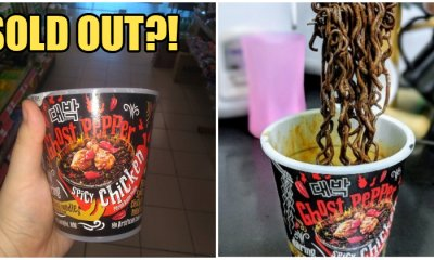 OMG! Mamee's Spicy Ghost Pepper Cup Noodles are SOLD OUT in Almost All 7-Eleven Stores! - WORLD OF BUZZ