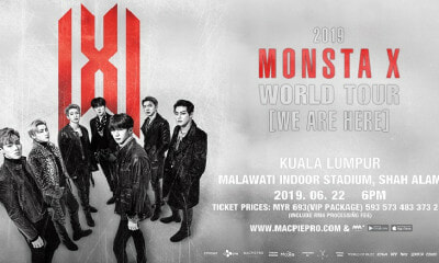Popular K-Pop Group 'Monsta X' Offline Tickets Go On Sale This 20 April! - WORLD OF BUZZ 2