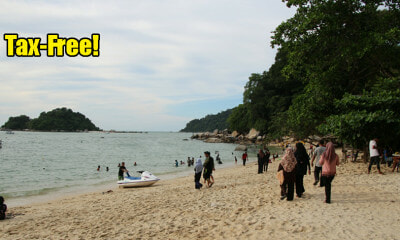 Pulau Pangkor Will Soon be Free of Tax and SST Starting January 2020! - WORLD OF BUZZ