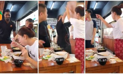 Rowdy Man Causes Singaporean Lady to Go Berserk After Trying to Flip Her Table - WORLD OF BUZZ 7