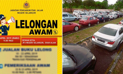 Selangor JPJ Will Be Auctioning Off 102 Vehicles on 24 April, Here's What You Need to Know - WORLD OF BUZZ