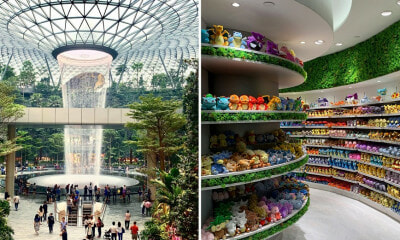 Singapore's Jewel Changi Airport With Pokemon Center is Ready to Open Next Week & It Looks Amazing! - WORLD OF BUZZ 1